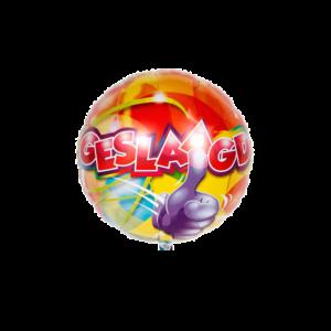Folieballonnen Geslaagd
