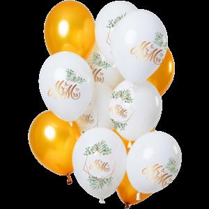 Bedrukte ballonnen huwelijk