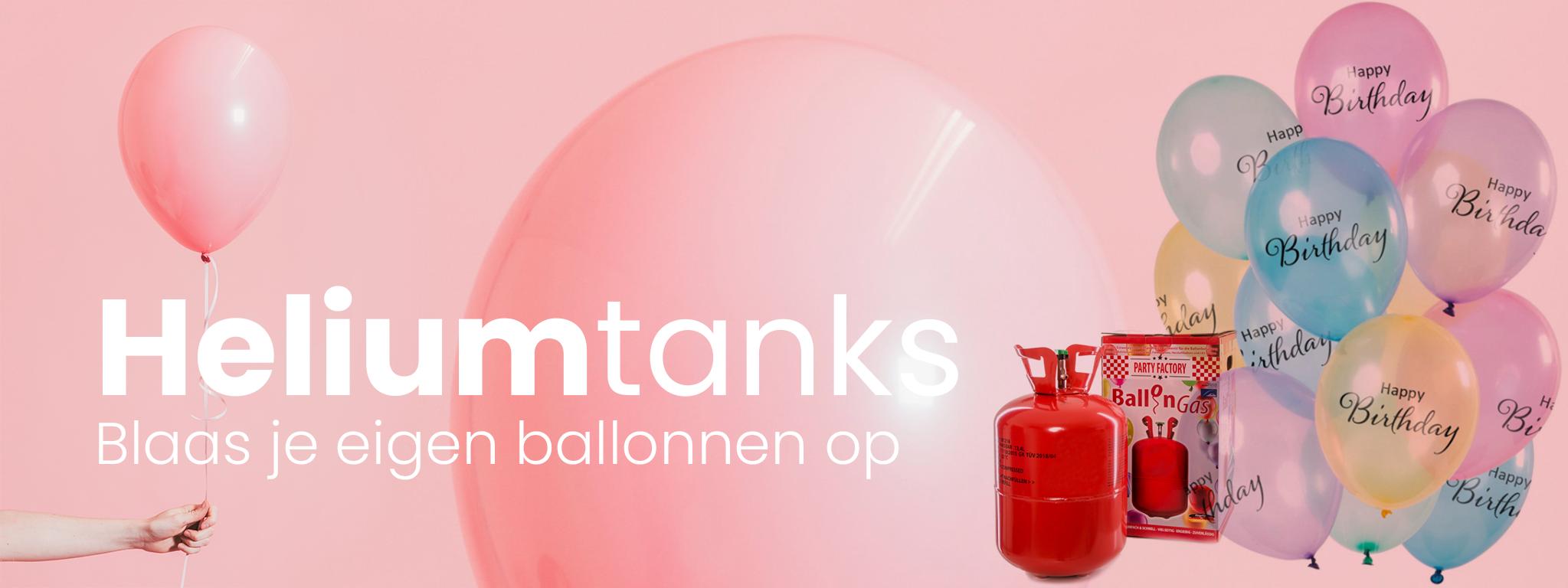 Heliumtanks