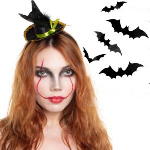 Halloween Pruiken / tiara