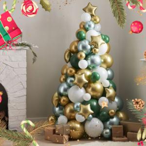 Ballon DIY Kerstdecoratie